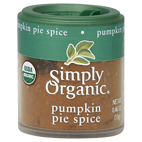 Simply Organic Spice Pumpkin Pie - 0.46 Oz