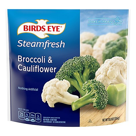Birds Eye Steamfresh Vegetables Mixtures Broccoli & Cauliflower - 10.8 Oz