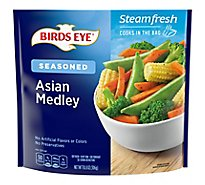 Birds Eye Steamfresh Chefs Favorites Lightly Seasoned Asian Medley - 10.8 Oz