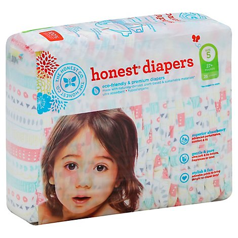 The Honest Company Diapers Pastel 5xl - 25 Piece