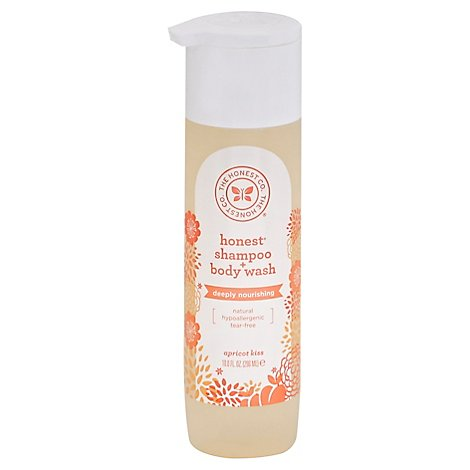 The Honest Company Wash Body & Shampoo Apricot - 10 Fl. Oz.