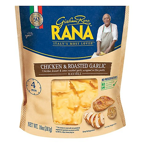 Rana Ravioli Chicken & Roasted Garlic - 10 Oz