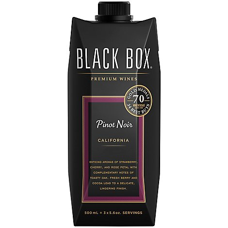 Black Box Wine Red Pinot Noir Go Pack - 500 Ml