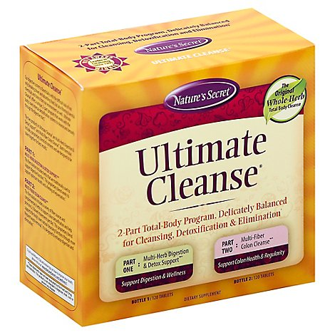 Natures Secret Cleanse Ultimate - 1 Each