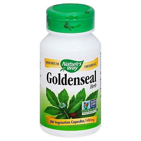 Natures Way Goldenseal Herb - 100 Count