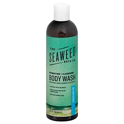 Sea Weed Bath Company Wash Body Unscented - 12 Oz