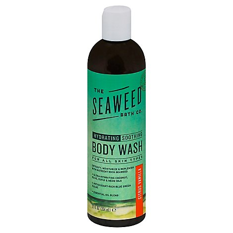 Sea Weed Bath Company Wash Body Citrus Vanilla - 12 Oz