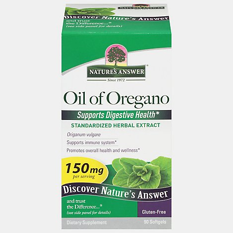 Natures Answer Afs Oil Of Oregano - 90 Count
