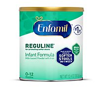 Enfamil Reguline Infant Formula Milk Based Pwder with Iron Can -12.4 Oz