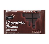 Signature SELECT Candy Coating Artificially Flavored Chocolate - 24 Oz