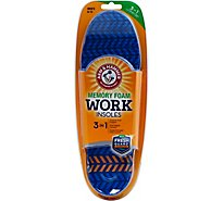 A&H Memory Fm Work Insoles - 1 Pair