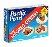 Pacific Pearl Oysters Smoked Fancy - 3.75 Oz