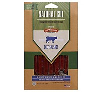Old Wisconsin Natural Cut Beef Snack Sticks Shelf Caddy - 6 Oz