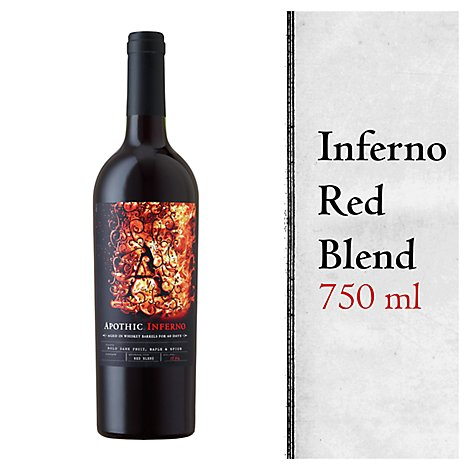 Apothic Inferno Wine Red Blend - 750 Ml