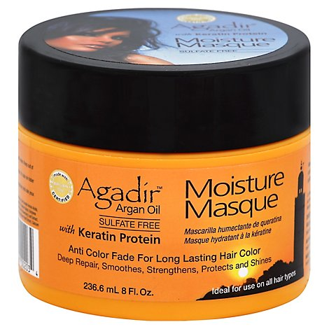 Agadir Moist Masque 8 Oz - 8 Oz