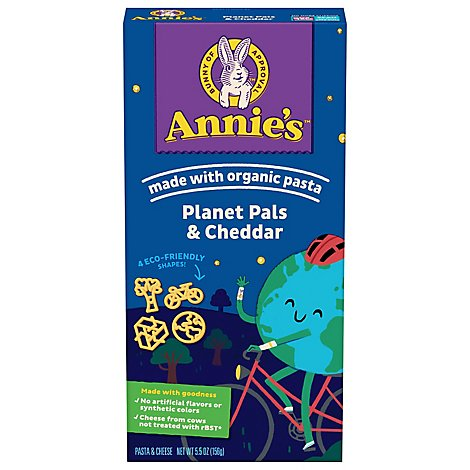 Annies Homegrown Macaroni & Cheese Mac & Trees Box - 5.5 Oz