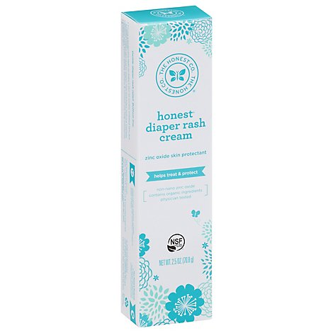 The Honest Co Diaper Rash Cream - 2.5 Oz