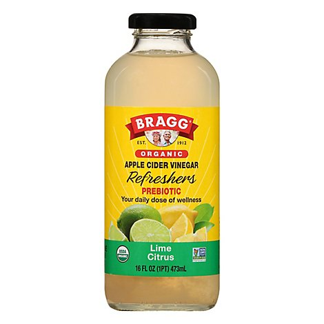 BRAGG Vinegar Apple Cider Limeade - 16 Fl. Oz.