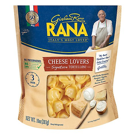 Rana Tortelloni Cheese Lovers - 10 Oz