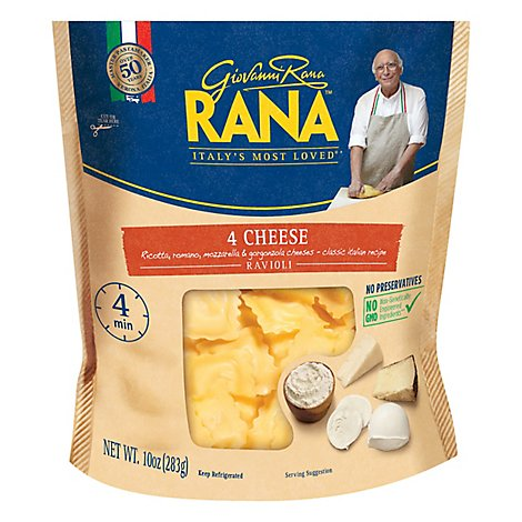 Rana Ravioli 4 Cheese - 10 Oz