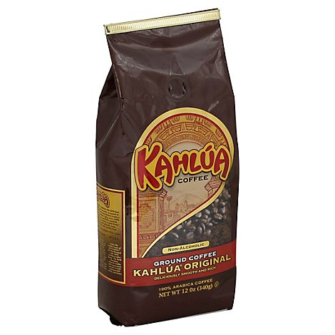 Kahlua Coffee Ground Non-Alcoholic Kahlua Original - 12 Oz