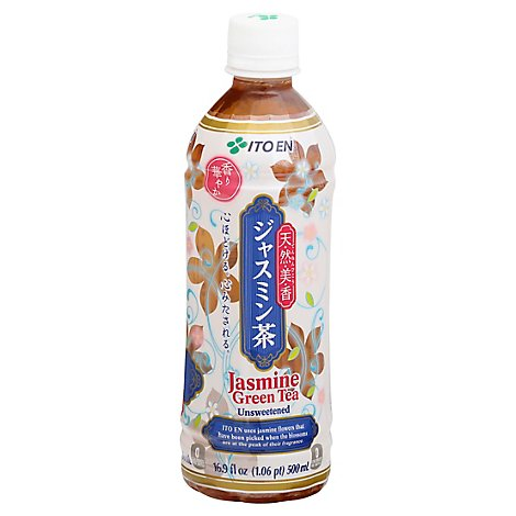 ITO EN Green Tea Unsweetened Jasmine - 16.9 Fl. Oz.