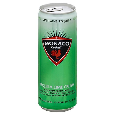Monaco Tequila Lime Crush Wine - 12 Oz
