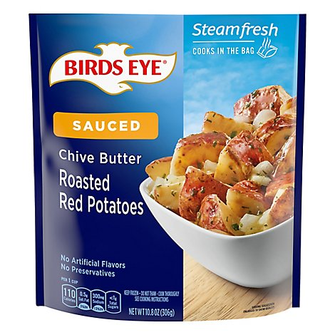 Birds Eye Steamfresh Chefs Favorites Roasted Red Potatoes With Chive Butter Sauce - 10.8 Oz