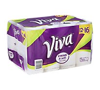 Viva Paper Towels Strong & Soft Choose-A-Size Wrapper - 12 Roll
