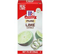 McCormick Extract Pure Lime - 1 Fl. Oz.