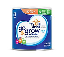 Go & Grow by Similac Toddler Drink Powder - 24 Oz