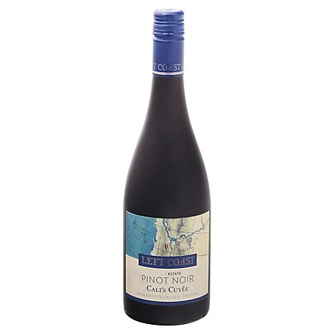 Left Coast Cellars Calis Cuvee Pinot Noir Willamette Valley Oregan Wine - 750 Ml