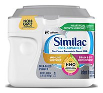 Similac Pro-Advance Infant Formula Non GMO with 2 FL HMO With Iron Powder - 23.2 Oz