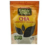 Natures Earthly Choice Seeds Chia Org - 8 Oz