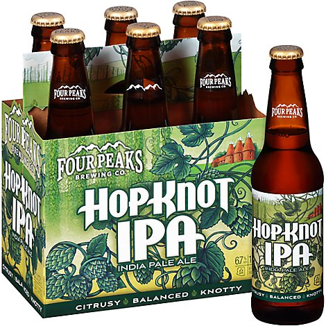 Four Peaks Hop Knot In Bottles - 6-12 Fl. Oz.
