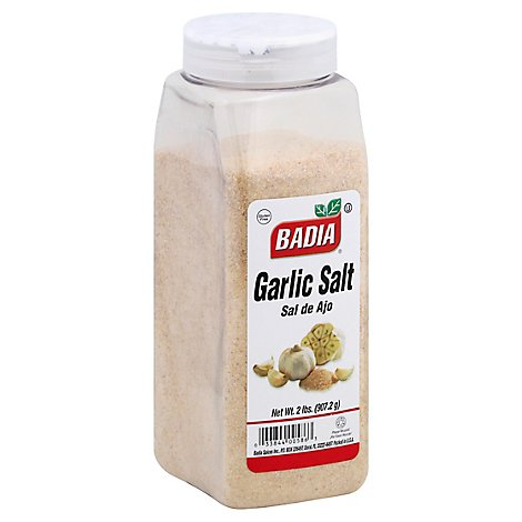 Badia Garlic Salt - 2 Lb