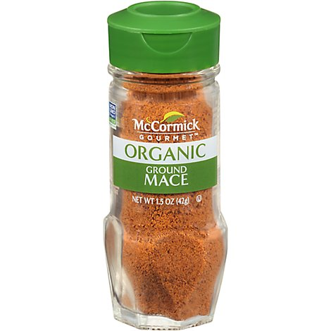 McCormick Gourmet Organic Mace Ground - 1.5 Oz