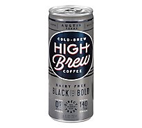 High Brew Coffee Cold-Brew Black & Bold - 8 Fl. Oz.