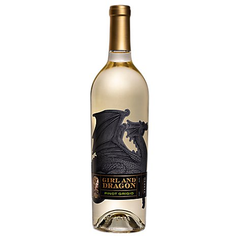 Girl & Dragon Pinot Grigio Wine - 750 Ml