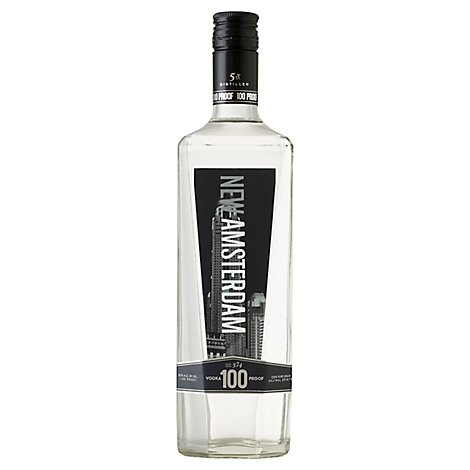 New Amsterdam Vodka 100 Proof - 750 Ml