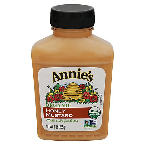 Annies Naturals Mustard Organic Honey - 9 Oz