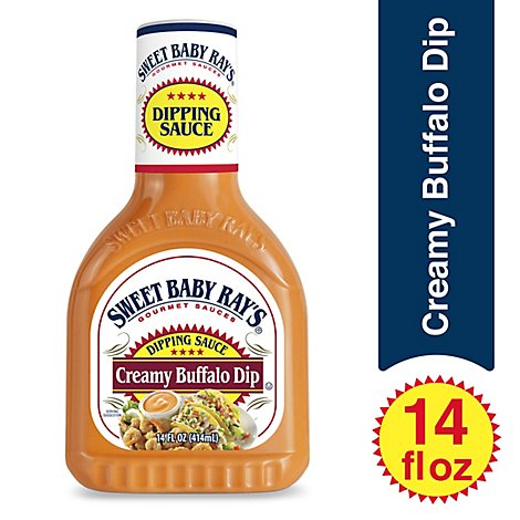Sweet Baby Rays Sauce Dipping Creamy Buffalo Wing - 14 Fl. Oz.