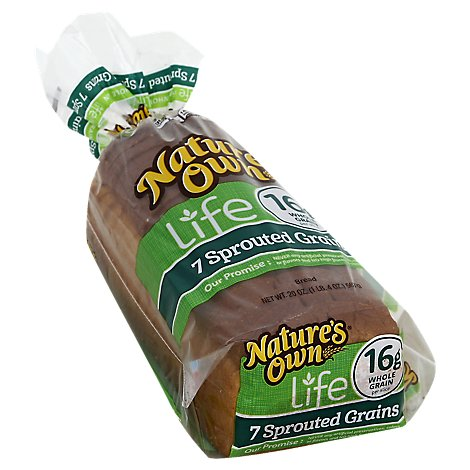 Natures Own 7 Sprouted Whole Grain - 20 Oz