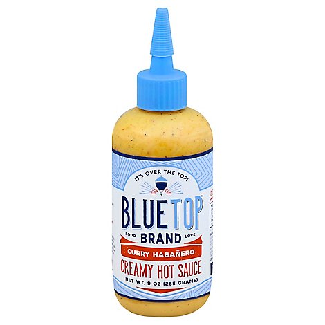 Blue Top Brand Sauce Curry Habanero - 9 Oz