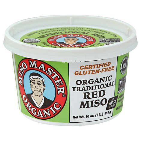 Miso M Miso Paste Trad Red Org - 16 Oz