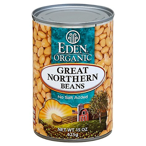 Eden Organic Beans Great Northern - 15 Oz