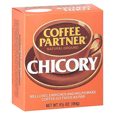 Coffee Partner Coffee Ground Chicory - 6.5 Oz