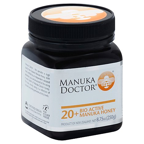 Manuka Doctor Honey Bio Active 20 - 8.75 Oz