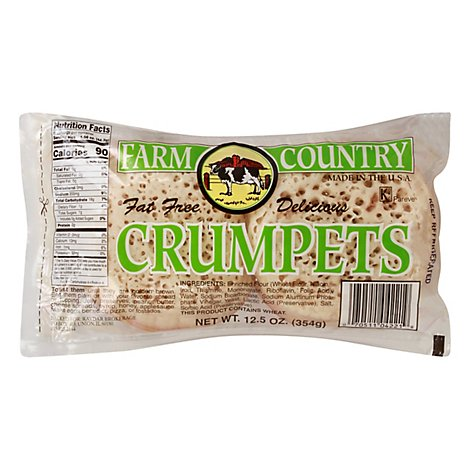 Farm C Crumpet Plain - 12.5 Oz
