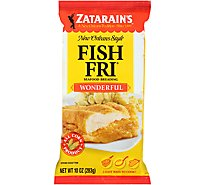 Zatarains New Orleans Style Fish Fri Wonderful - 10 Oz